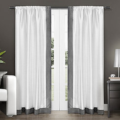 Gray Grammercy Curtain Panel Set, 84 in.