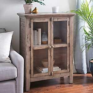 Rustic Shore Natural 2-Door Cabinet