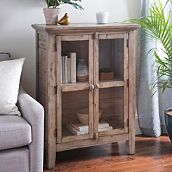 Rustic Shore Blue 2-Door Cabinet