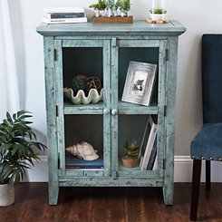 Rustic Shore Natural 2-Door Cabinet