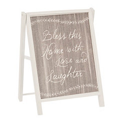 Love and Laughter Chalk Art Easel