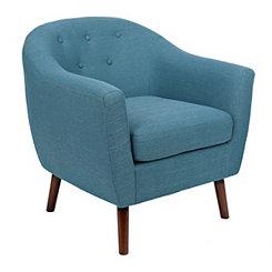 Laura Mid-Century Modern Accent Chair