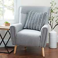 Light Gray Maya Accent Chair