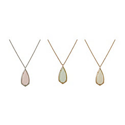 Shimmering Stone Necklaces