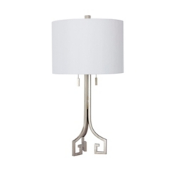 Champagne Modern Greek Table Lamp