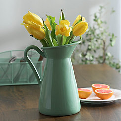 Green Pastel Pitcher