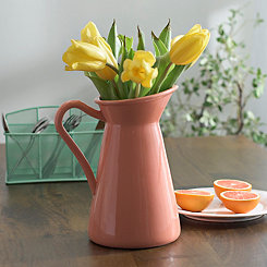 Orange Pastel Pitcher