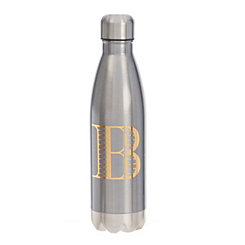Metallic Blue Monogram B Bottle