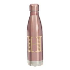 Metallic Pink Monogram H Bottle