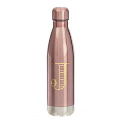Metallic Pink Monogram J Bottle