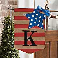 Stars and Stripes Monogram Flag Sets