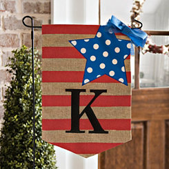 Stars and Stripes Monogram Flag Sets