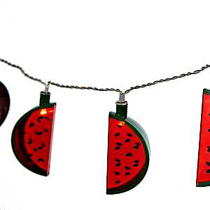 Watermelon Slice String Lights