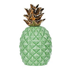 Green Pineapple Statue