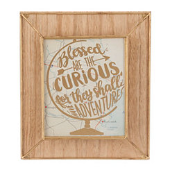 Blessed Are The Curious Wall Plaque
