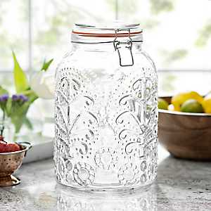 Glass Lace Bail and Trigger Canister