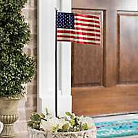 American Flag Garden Stake