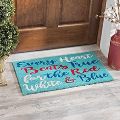 Every Heart Beats True Doormat