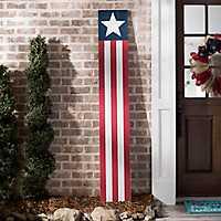 Stars and Stripes Porch Board Plaque