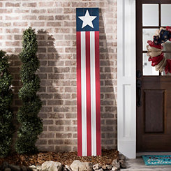 Stars and Stripes Porch Board Plaque