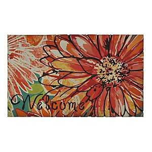 Charmed Flower Welcome Doormat
