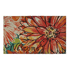 Charmed Flower Welcome Doormat