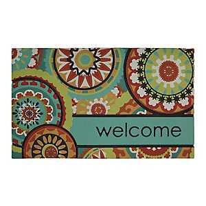 Aztec Medallion Welcome Doormat