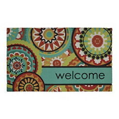 Aztec Medallion Welcome Doormat