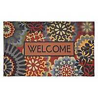 Dimensional Scatter Welcome Doormat