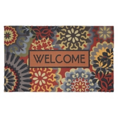 Dimensional Scatter Welcome Doormat