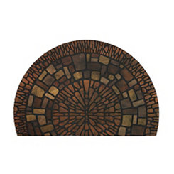 Exploded Medallions Slice Doormat