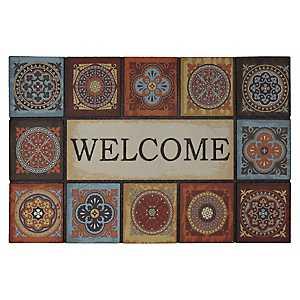 Talvera Fire Welcome Doormat