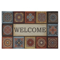 Talvera Fire Welcome Doormat