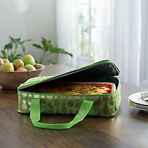 Green Pineapple Casserole Tote