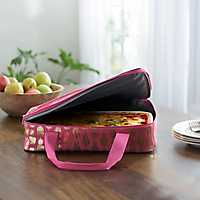 Pink Pineapple Casserole Tote
