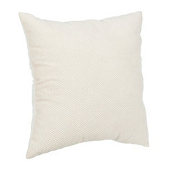 Delano White Pillow