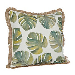 Watercolor Palms Pillow