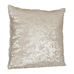 Laguna Ivory Sequins Pillow