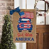 God Bless America Flag Set