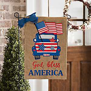God Bless America Flag Set