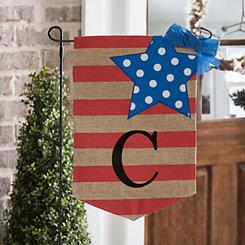 Stars and Stripes Monogram C Flag Set