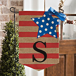 Stars and Stripes Monogram S Flag Set