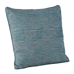 Chenille Distressed Blue Pillow