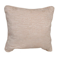 Chenille Distressed Ivory Pillow