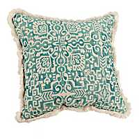 Blue Elsa Tile Pillow