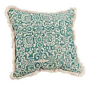 Blue Elsa Tile Pillow
