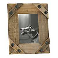 Sonoma Rustic Bolted Picture Frame, 5x7
