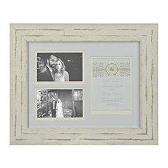 Wedding Invitation 3-Opening Collage Frame