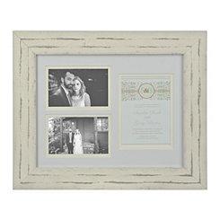Wedding Invitation 3-Opening Collage Frame