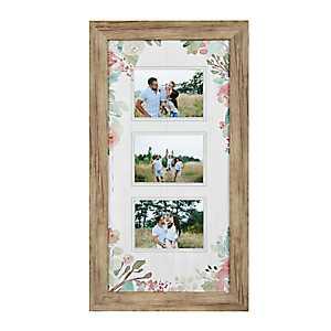 Floral Collage Frame